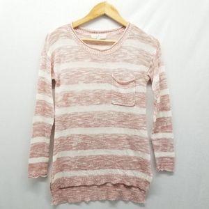 Pink Republic Striped Sweater S Small